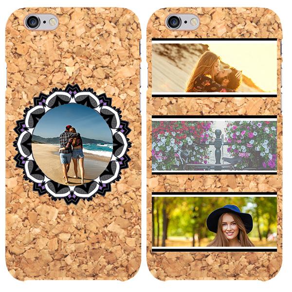 funda personalizada de corcho para iPhone 6 y iPhone 6S