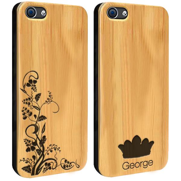 fundas de madera personalizadas para iPhone 6 y iPhone 6S