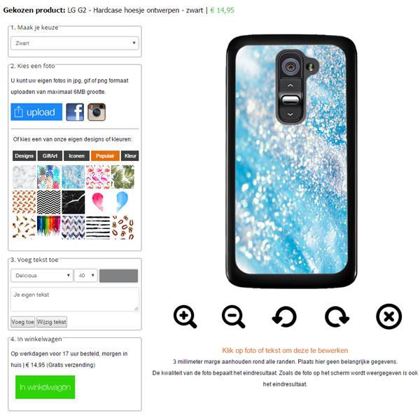 Funda  personalizada LG G2