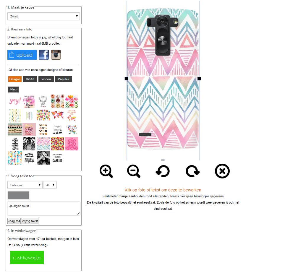 funda personalizada LG G3S