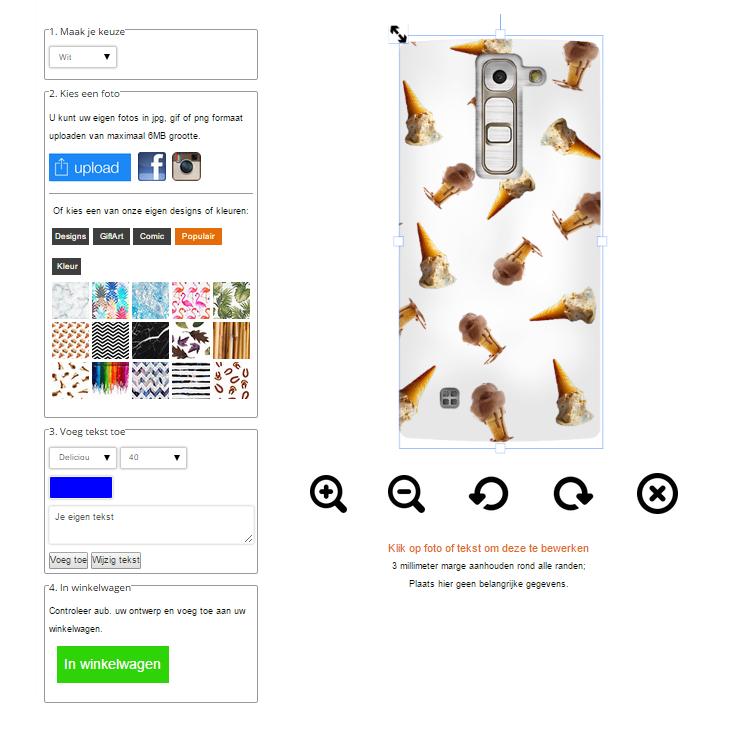 fundas personalizadas LG G4C