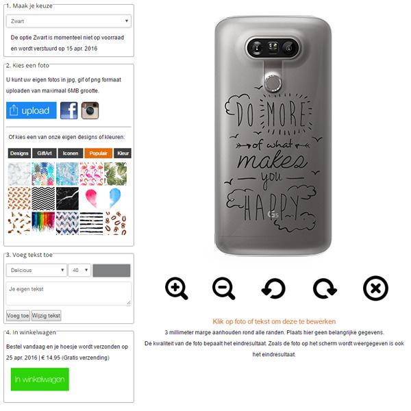 carcasas personalizadas LG G5