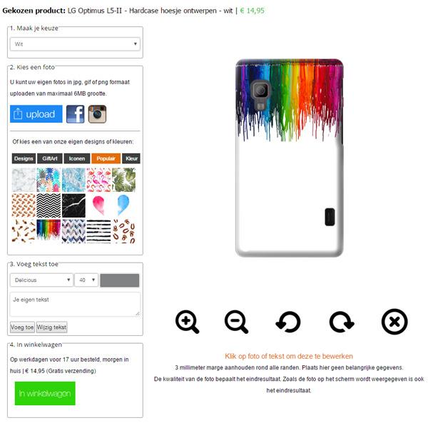 funda  personalizada LG Optimus L5