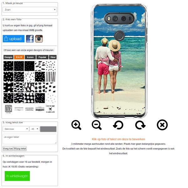 carcasa personalizada LG V20 con foto
