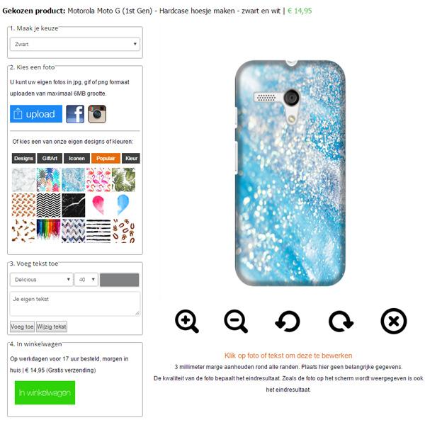 Funda personalizada Motorola Moto G