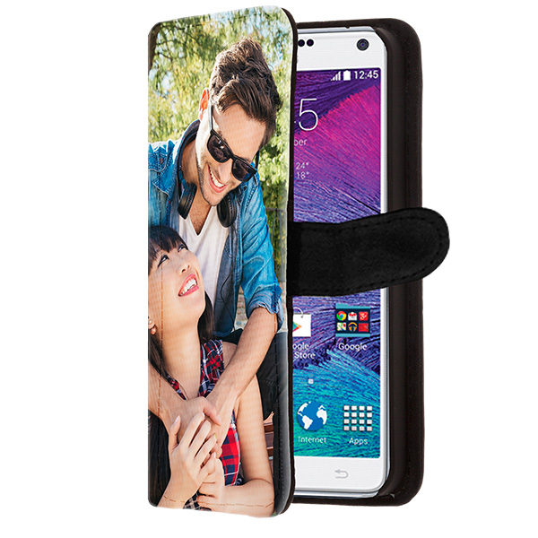 funda personalizada billetero Samsung Galaxy Note 4