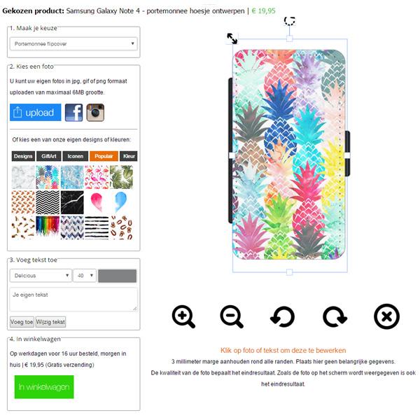 fundas personalizadas Samsung Galaxy Note 4