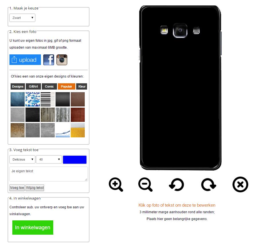fundas personalizadas Samsung Galaxy A7