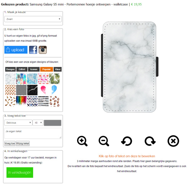 fundas personalizadas Samsung Galaxy S5 mini
