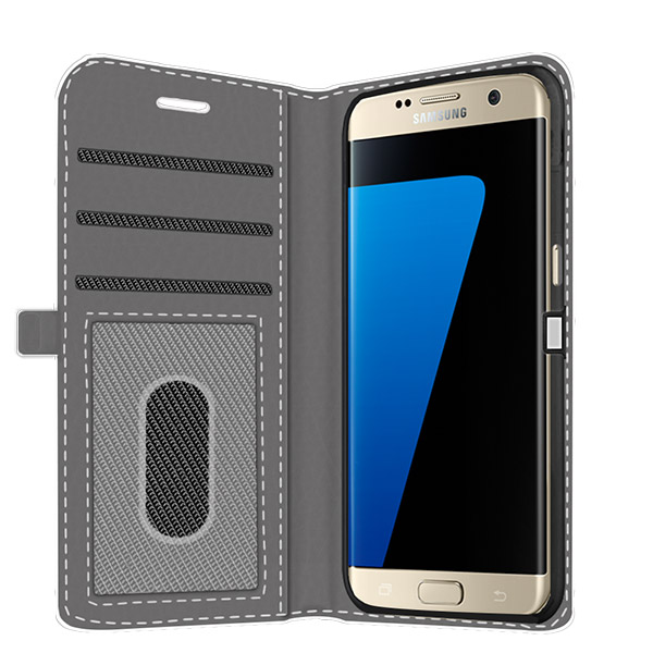 fundas personalizadas galaxy S7 edge billetera