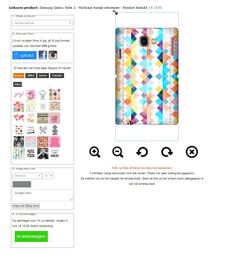 funda personalizada Samsung Galaxy Note 2