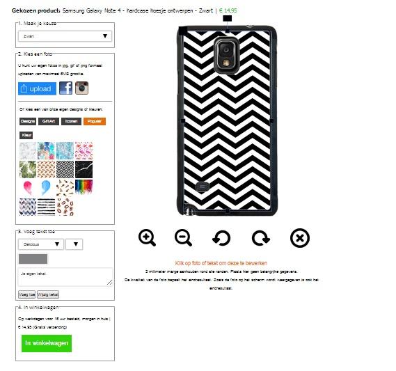 personaliza tu carcasa para Samsung Galaxy Note