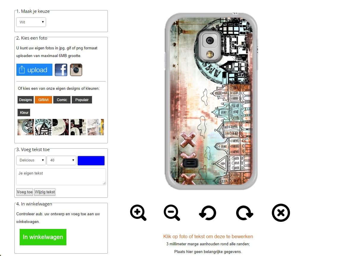 fundas personalizadas para Samsung Galaxy S5 Mini