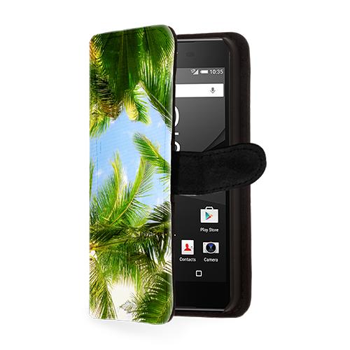 funda personalizada billetero Sony Xperia Z5 Compact
