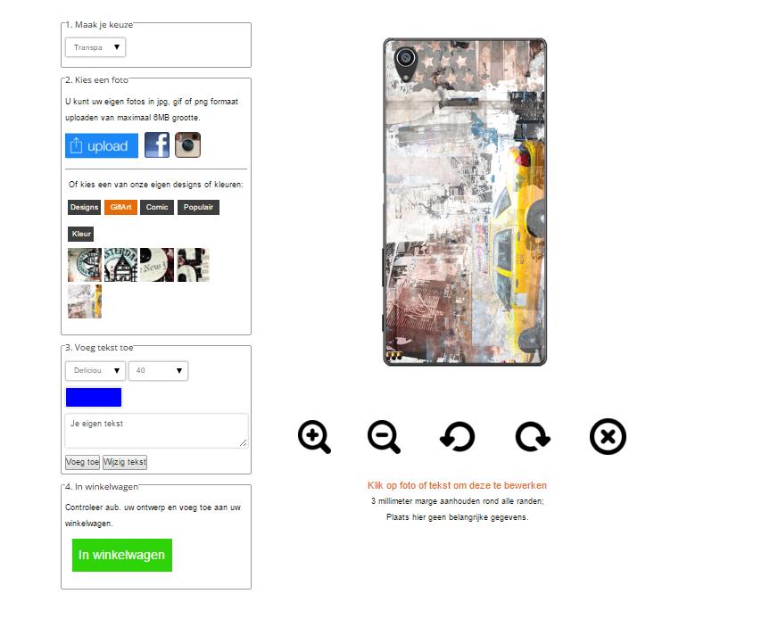 fundas personalizadas para Sony Xperia Z5